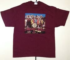 The Beatles Men's Sgt Pepper T-shirt Purple XL
