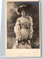 Vintage 1900's RPPC Young Actress Girl, Marie Studholme, Real Photo Postcard