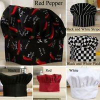 1* Elastic Polyester Chef Hat For Restaurants Cafes Commercial Kitchens Hotel