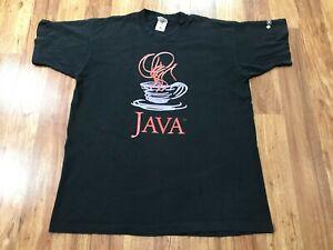 XL - Vtg 90s Java Sun Microsystems Single Stitch Faded Cotton T-shirt Canada