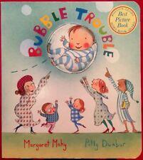 """Children's """"Bubble Trouble"""" Board Book by Margaret Mahy ~ Boston Globe Winner!"""