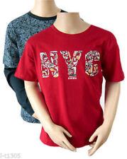 Camiseta de niño de 2 a 16 años manga corta en rojo