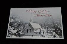 10 Greeting Cards CHRISTMAS Religious Church Steeple Ephesians Glitter Dayspr