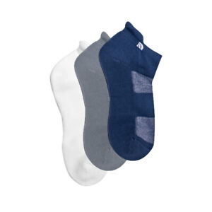 The North Face 3 Pack Adult Unisex Ankle Travel Sock Multi - UK 2-4.5