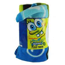 "Nickelodeon SpongeBob Squarepants Fleece Throw Blanket 46"" x 60"""