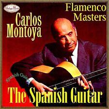 CARLOS MONTOYA CD Spanish Guitar / Spain Baile Flamenco Guitarra Master Gypsy
