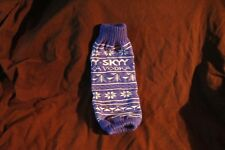 SKYY VODKA SOCK FOR 750 ML BOTTLE
