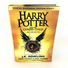 Harry Potter And The Cursed Child Book Special Rehearsal Edition Script 1st/1st