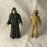Vintage Star Wars Emperor Palpatine & 4-LOM Action Figure - Kenner 1981-1984
