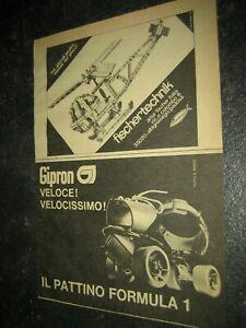 1974 -5#1 fischertechnik Werbung Katalog Prospekt catalogue catalogo pub ad