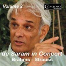 De Saram In Concert Vol.2 [Rohan de Saram, Druvi de Saram] [Claudio Records: CB6