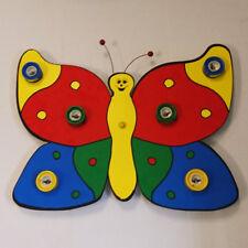 4 Lt Children's Butterfly Novelty Wall Bedroom Light EX STORE DISPLAY Litecraft