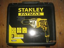 Stanley FME140K 750 w Corded Drill. New in sealed hard case