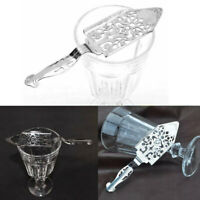 Stainless Steel Absinthe Sugar-Spoon Cocktail Wormwood Scoop-Drinks Utensil RRJ