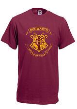HOGWARTS EMBLEM Harry Potter ron hermonie dumbldor Unisex men kids T- SHIRT