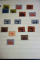 Germany Stamps Group of 16 Mint NH Early Stuttgart Revenue Local Issues