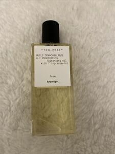 Typology Cleansing Oil With 7 Ingredients, Brand New