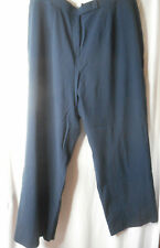 Covington Size 22W Blue Trouser dress pants