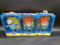 3 Rugrats Chuckie X2 / Tommy Figures NEW Mattel Lot VTG 1997 Dolls Collectible