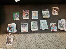 500 Vintage Football Cards 73, 74, 77, 79, 80 topps. 80, 81 fleer. Other misc