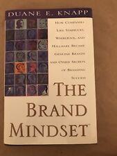 The Brand Mindset by Duane E. Knapp (1999, Hardcover)