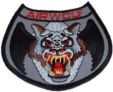 Airwolf TV Series Embroidered Logo Shoulder Patch