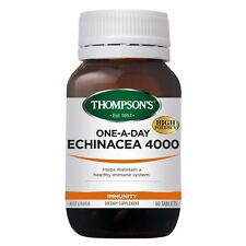 THOMPSON'S - ECHINACEA 4000 60T THOMPSONS - HELPS MAINTAIN HEALTHY IMMUNE SYSTEM