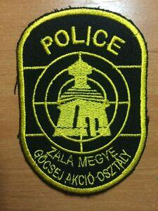 PATCH POLICE HUNGARY - ORIGINAL!
