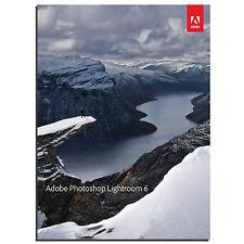 Adobe Photoshop Lightroom 6 (Version 6.9 - Latest - 2017) - Windows PC - Genuine