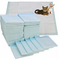 100pcs PUPPY HOUSE SUPER ABSORBENT TRAINING PADS WITH COLOUR INDICATOR 60 x 45CM