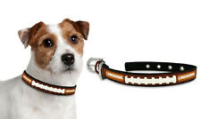 Texas Longhorns Small Leather Lace Dog Collar [NEW] NCAA Pet Cat Lead CDG