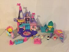 Little People Disney Princess Songs Palace Castle Figures Mermaid Coach HUGE LOT