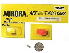 4 AFX TOMY Turbo Slot Car PICK UP SHOE SPRINGS Unused BSRT High Performance Part