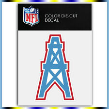 "Houston Oilers Logo NFL Die Cut Vinyl Sticker Car Bumper Window 4""x2.5"""