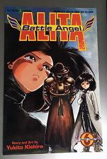Viz Select Comics Battle Angel Alita Part Two #6 Movie Yukito Kishiro VF+
