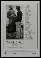 Plakat Ich E Annie Frauen Woody Allen Diane Keaton Tony Robert Film PP3