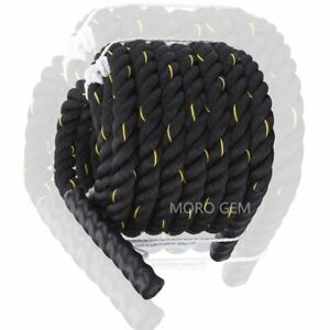 12m Battle Rope Power Strength Exercise Fitness Bootcamp Core Body Gym Bootcamp