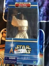 Star Wars Attack of the Clones Mace Windu Character Collectible Hasbro Figure