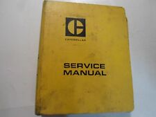 Caterpillar 5.4 Bore 6 Cylinder Vehicle Engine No.16 PT Service Manual STAINED
