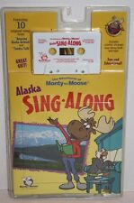 NEW The Adventures of Monty Moose Alaska Sing-Along Paperback Book w/Cassette