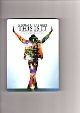 Michael Jackson's - This Is It - Special Edition 2 DVDs Steelbook  #11299