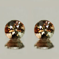 EXCELLENT  MIND BLOWING LUSTER NATURAL ANDALUSITE 4MM  PAIR  LOOSE GEMSTONE