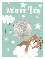 2020 $1 1 oz. American Silver Eagle Coin New Baby Coin Card GEM BU SKU60248