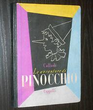 Collodi - LE AVVENTURE DI PINOCCHIO - Cappelli 1952 ill Bacci