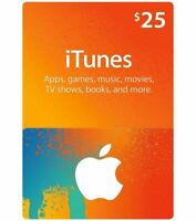 Apple Gift Card (new)$25