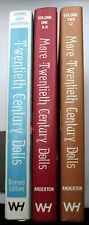 Complete set TWENTIETH CENTURY DOLLS FROM BISQUE TO VINYL Johana Gast Anderton