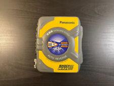 Panasonic Shockwave Xbs Extra Bass Am/Fm Cassette Player Auto Reverse Rq-Sw5