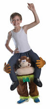 Kids Piggyback Costume Money Wild Animal Carry Me Fancy Dress Outfit Step In New
