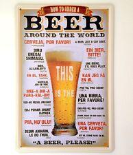 Retrò Parete IN METALLO SIGN TIN Placca Vintage Divertenti Birra CUCINA REGALO BAR PUB LOUNGE