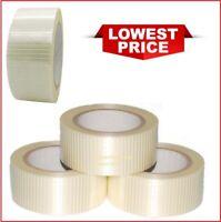 Cross Weave Extra Strong Fiberglass Reinforced Filament Security Tape 50mm x 50m